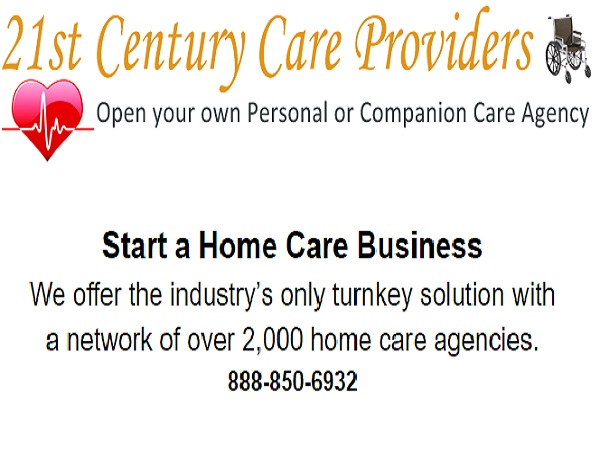 Open a personal care agency, start a companion care business