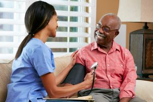 compassionate home health care visiting nurse